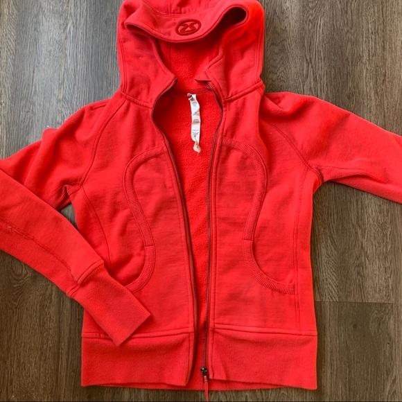 Lululemon scuba terry zip up hoodie